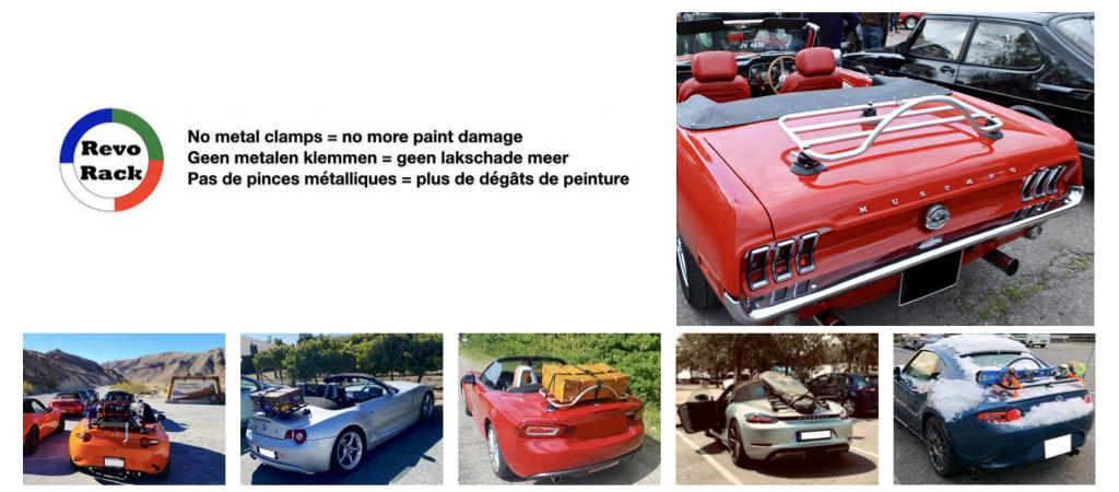 American Cabrio Gepäckträger