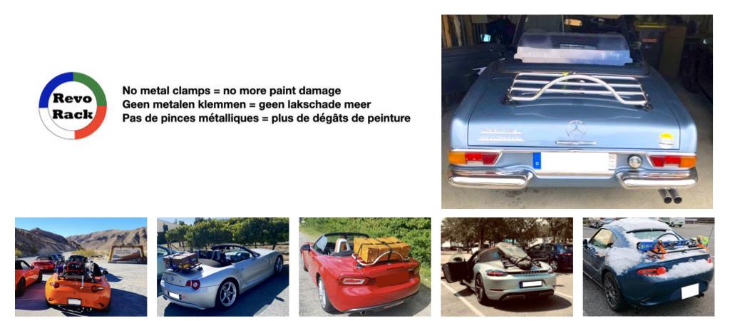 Mercedes-Benz Gepäckträger