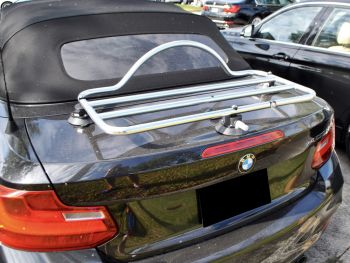 BMW 2 series convertible stainless steel luggage rack