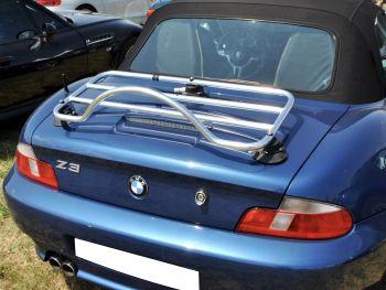 Portapacchi BMW Z3 in acciaio inossidabile cromato lucido Portabagagli