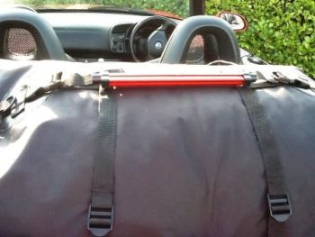 car boot rack with brake light