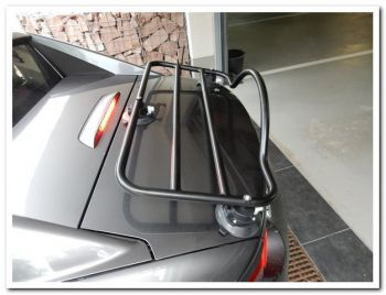 mazda mx5 miata rf luggage rack on silver RF