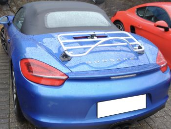 porsche boxster 718 luggage deck rack stainless steel