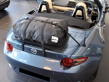 boot-bag original luggage rack fitted to mk4 nd mx5 miata