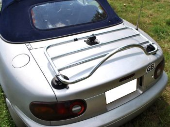 Mazda MX5 MK1 Boot Rack Stainless Steel