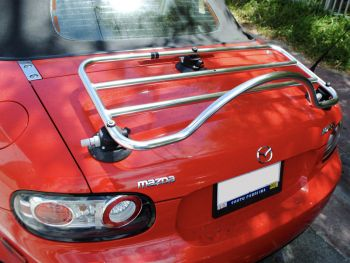 mazda mx5 mk3 boot rack stainless steel