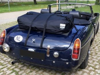 mgb boot luggage rack boot-bag vacation