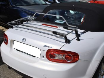mazda miata nc luggage rack stainless steel