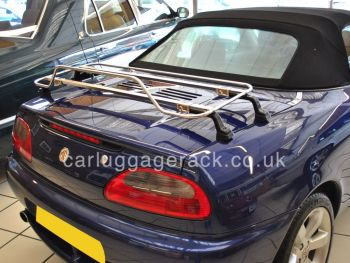 MGF MGTF Stainless Steel Luggage Rack