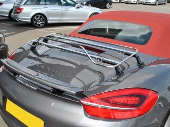 Porsche Boxster Luggage Rack - Spring Stainless Steel For 986,987 & 981