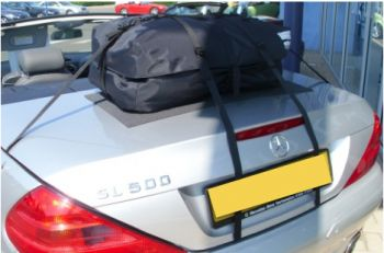 mercedes sl luggage rack alternative boot-bag original fitted to silver R230 SL